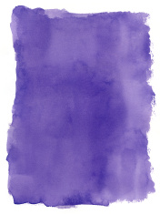 Rough Purple Watercolour