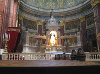 Inside St.Stephan's Basilica