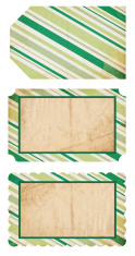 Retro Christmas Tags XXXL