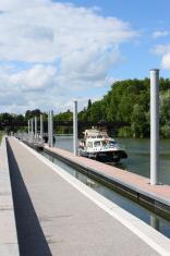 Besançon harbour
