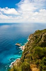 Cliffs in Kerkyra