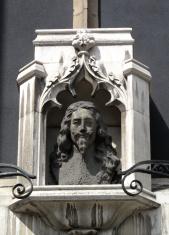 Charles 1 Bust St Margaret's Church