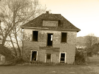 Creepy Tilting House