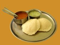 Steam-cooked Indian Vegetarian Breakfast