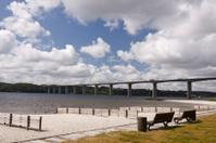 Bridge over Vejle Fjord