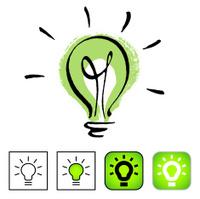 Environmentally friendly light bulb.