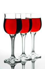 Three Full Wineglass