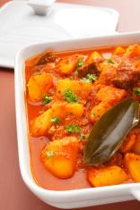 Stifado Greek Lamb Stew