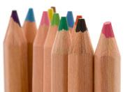 colored pencil macro