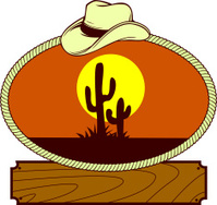 Western Ranch Label