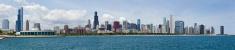Chicago Skyline Panorama - XXXL