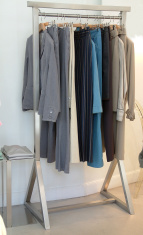 elegant clothes hanged
