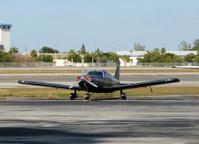 Small black airplane