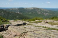 Mountain range in Acadia National Park