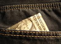 Dollar in a pocket (2)
