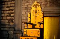 Golden Throne at sunset