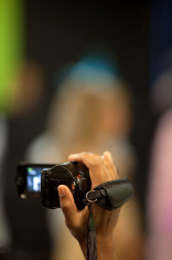 Camcorder in Hand