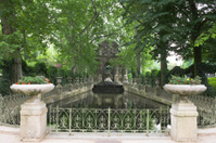 Medicis Fountain in Luxembourg Gardens, Paris, France