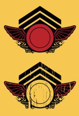 vintage flying shield