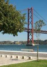 big bridge in lisboa, portugal