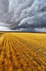 Enormous thundercloud