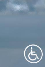 Handicap wheelchair sign