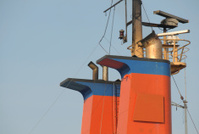 Tankship funnels