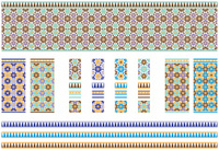 Set of Spanish / Moroccan Tiles