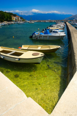 marina in Baska