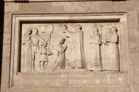 Detail of St. Stephen Basilica, Budapest, Hungary