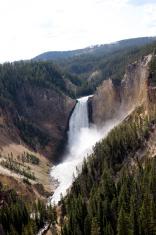 Waterfall at Grand Canyon of Yellowstone