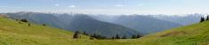 Mountain Panorama: Washington's Olympic Range