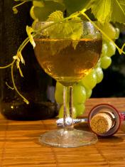 concept grape wine