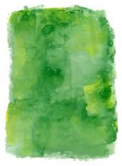 Green Field Watercolour