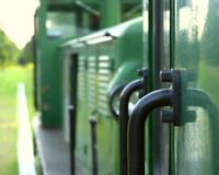 Narrow gauge train - detail