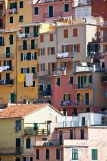 Fishing village Manarola Cinque Terre Italy