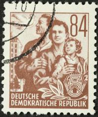 East German family