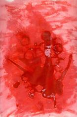 Congealed crimson