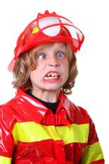 crazy boy fireman