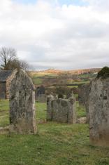 Church yard widecombe in the moor