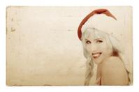 Post Card Series - Mrs. Santa