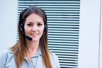 secretary and phone call center