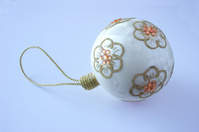 hand made christmas bauble