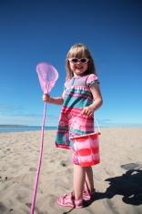 Little Girl Beach Summer