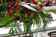 Roses on Casket