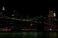Brooklyn Bridge, Manhatten, Night