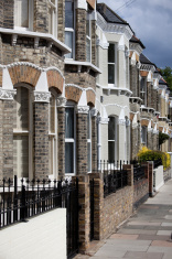 Row Houses, London England