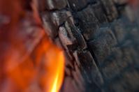 Close-up of a Campfire
