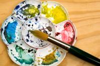 Watercolour palette