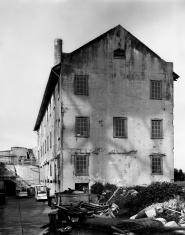 Creepy Empty Building in Historic Prison, Alcatraz